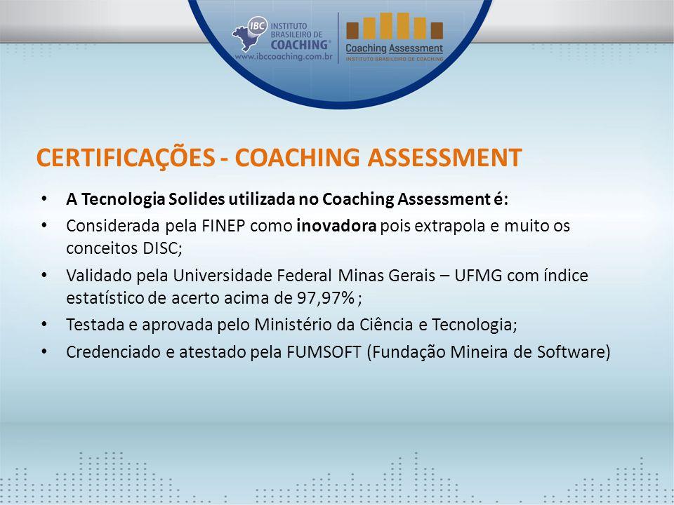 Certificações - Coaching Assessment