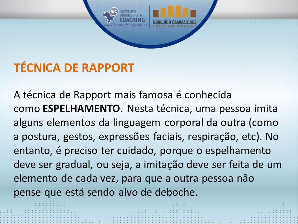 TÉCNICA DE RAPPORT