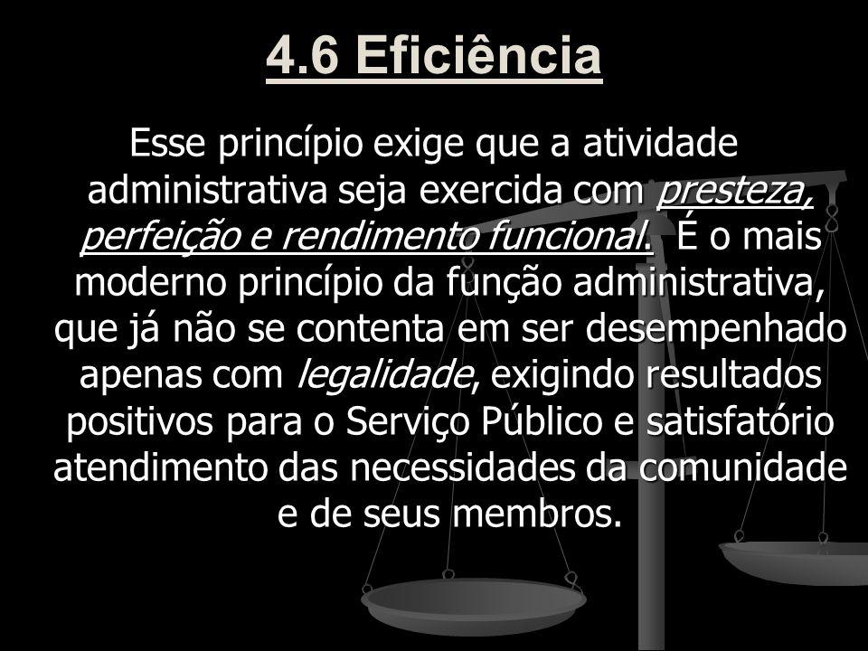 4.6 Eficiência