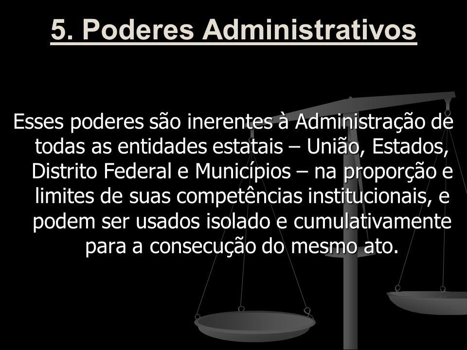 5. Poderes Administrativos