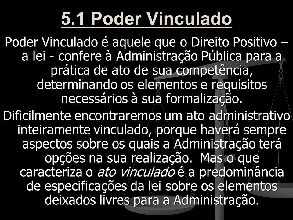 5.1 Poder Vinculado