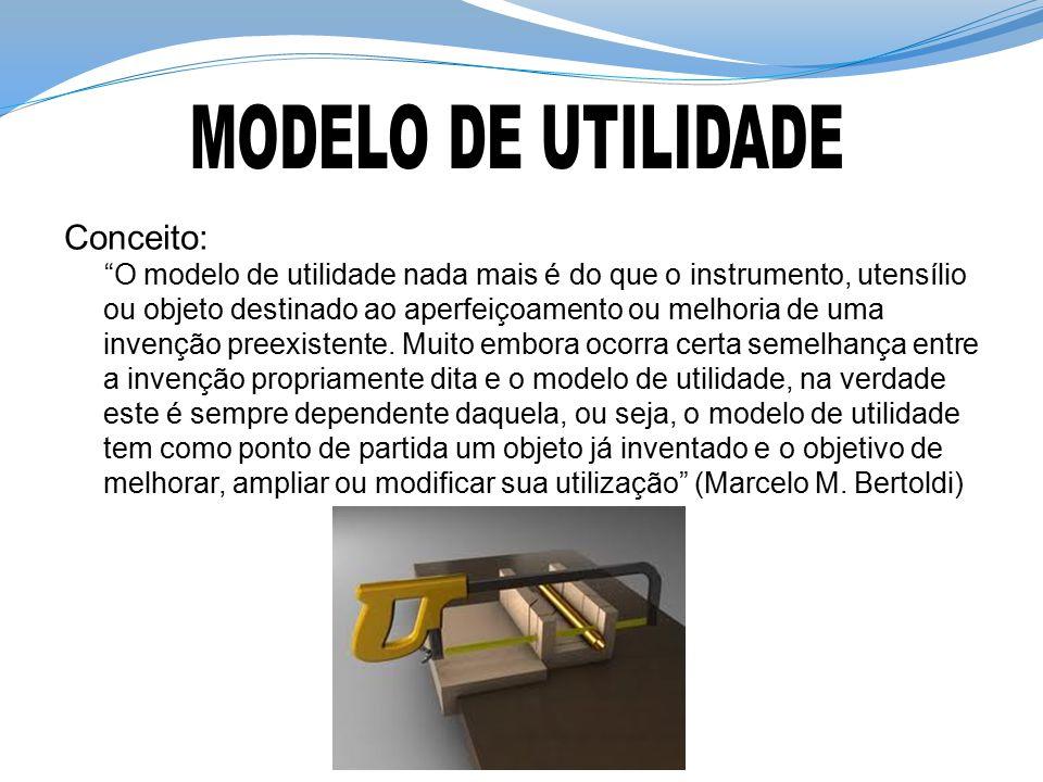 MODELO DE UTILIDADE Conceito: