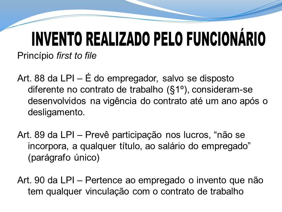 INVENTO REALIZADO PELO FUNCIONÁRIO