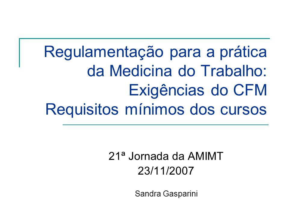 21ª Jornada da AMIMT 23/11/2007 Sandra Gasparini