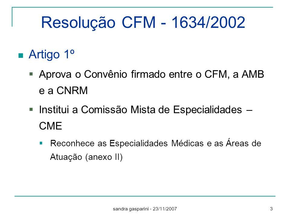 Resolução CFM - 1634/2002 Artigo 1º