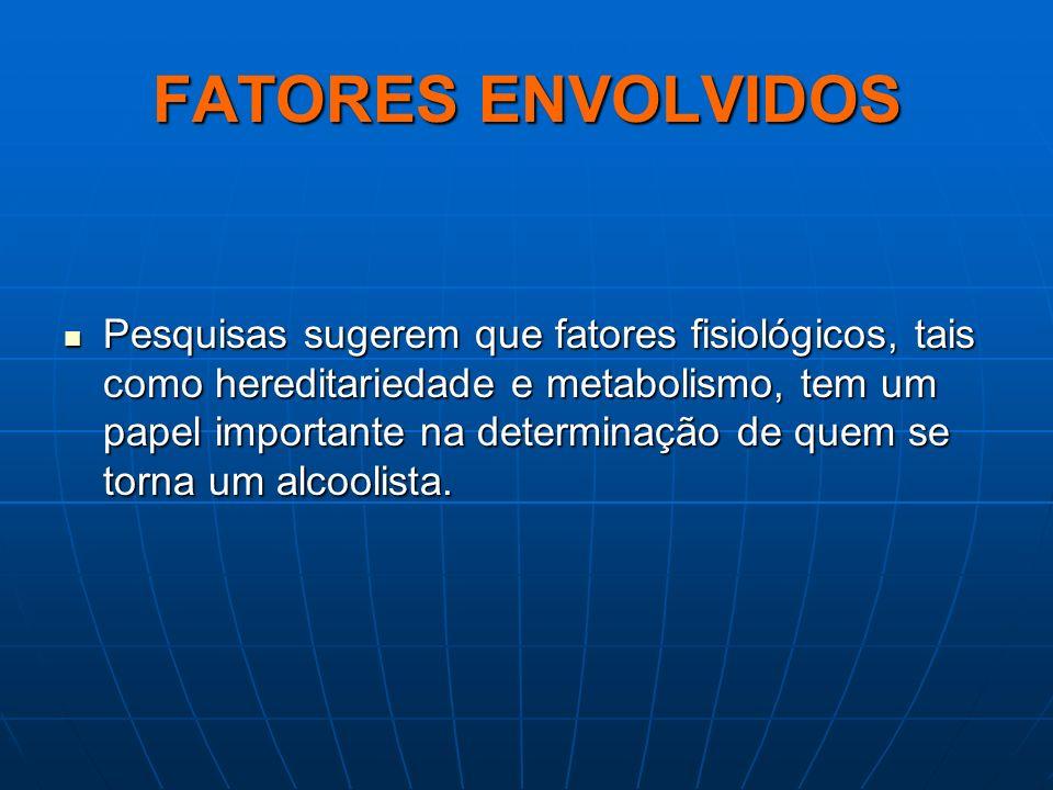 FATORES ENVOLVIDOS