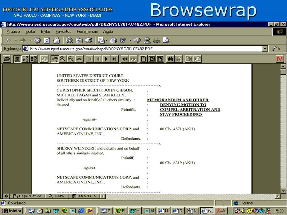 Browsewrap www.opiceblum.com.br