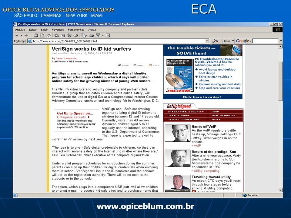 ECA www.opiceblum.com.br