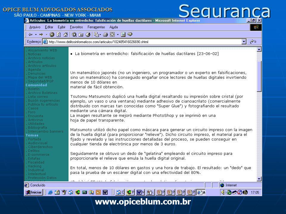 Segurança www.opiceblum.com.br