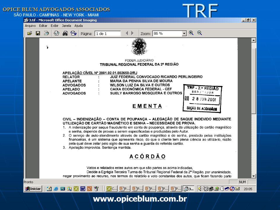 TRF www.opiceblum.com.br