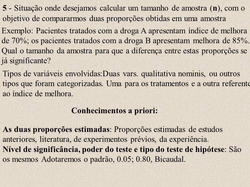 Conhecimentos a priori: