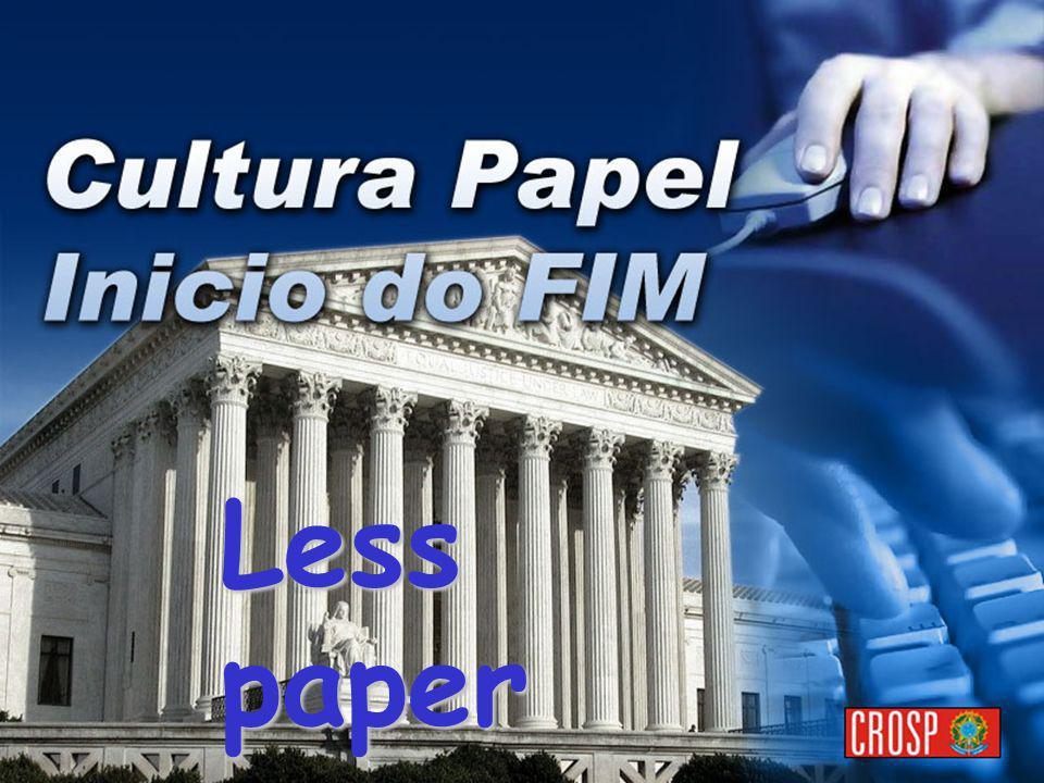 Less paper