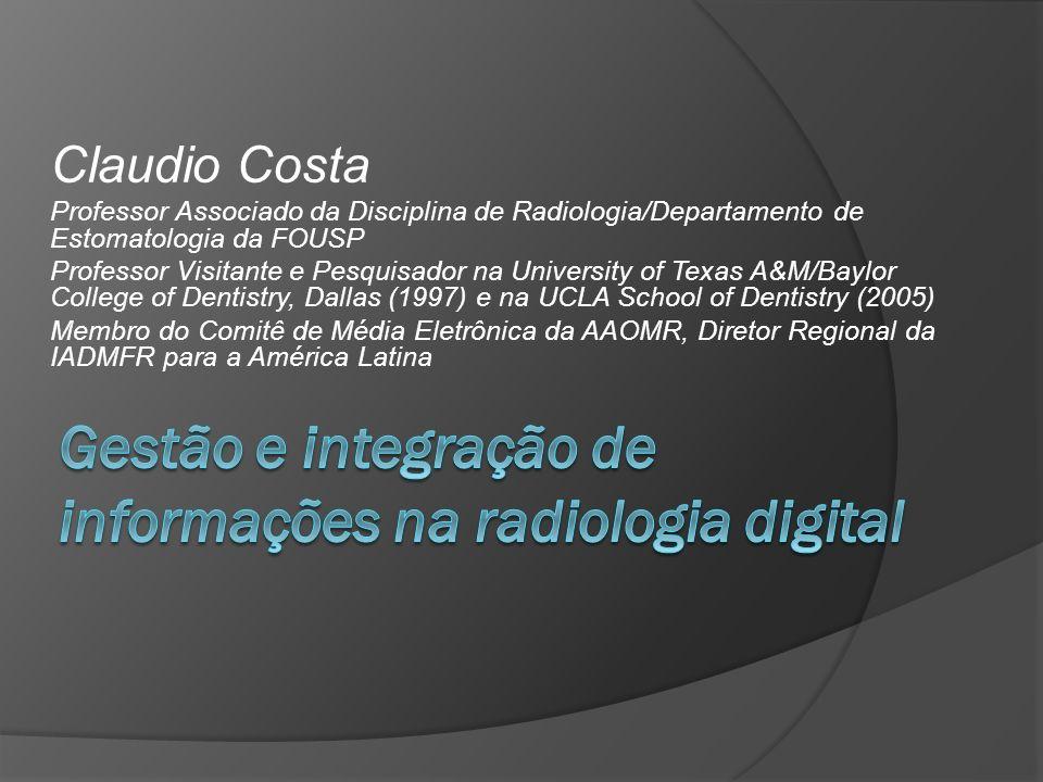 Gestão e integração de informações na radiologia digital