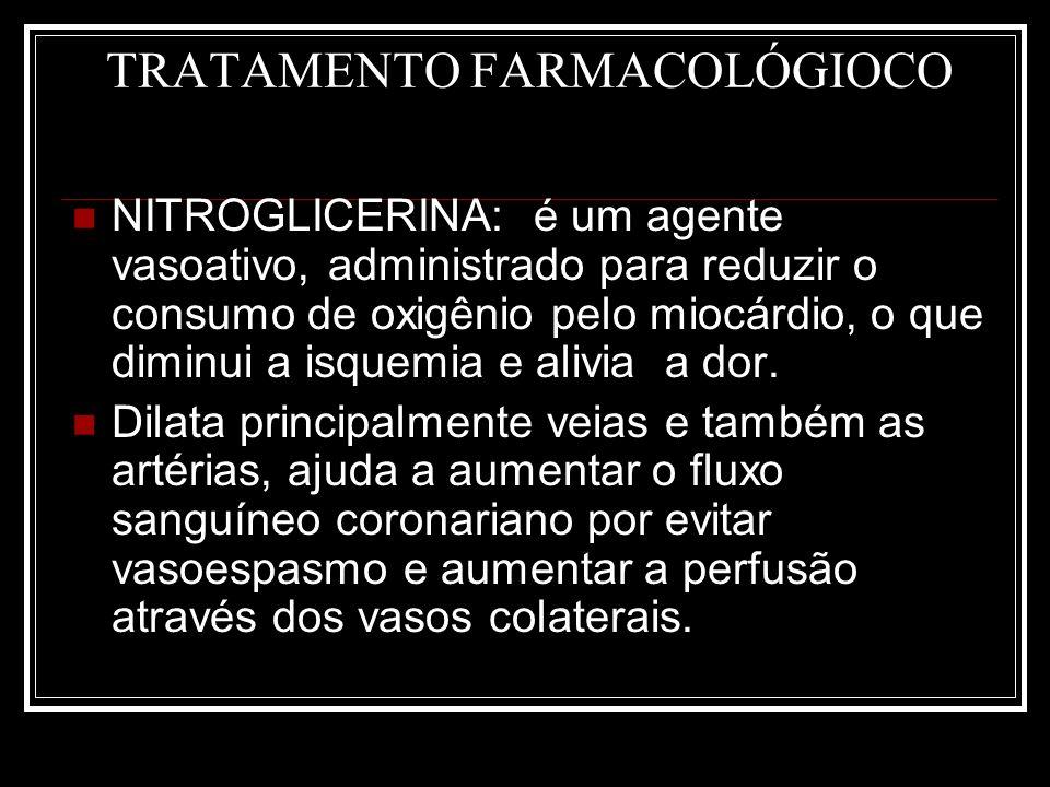 TRATAMENTO FARMACOLÓGIOCO
