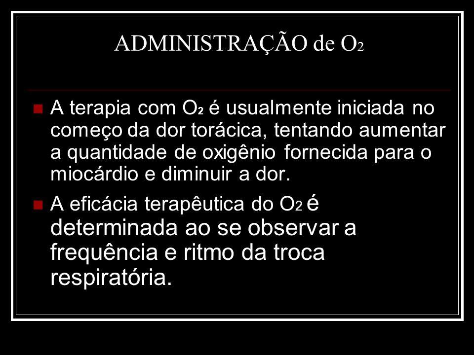 ADMINISTRAÇÃO de O2