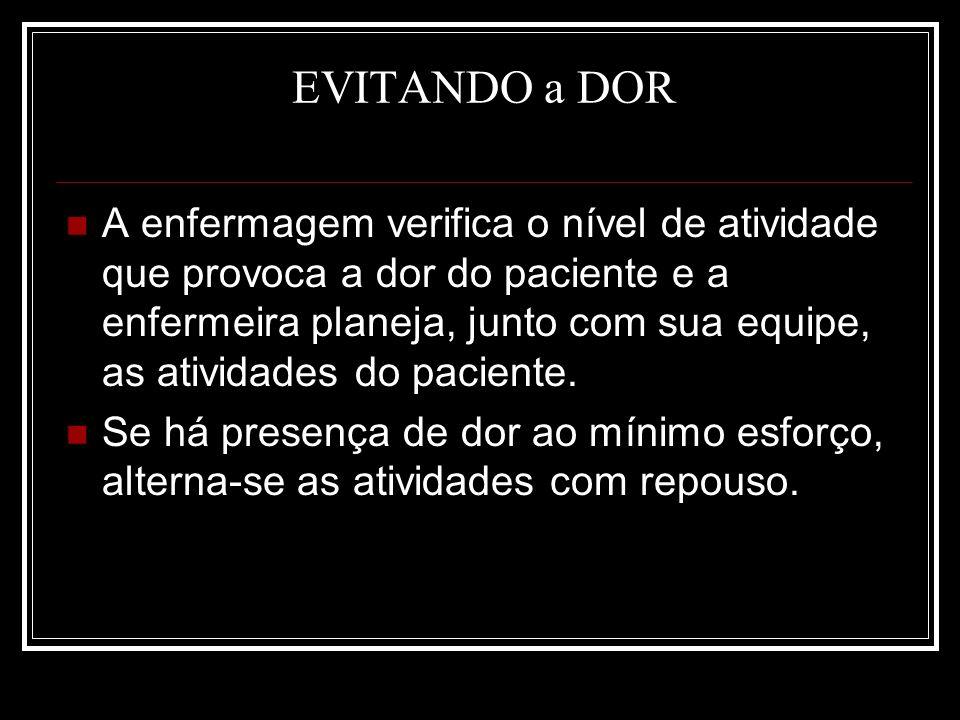 EVITANDO a DOR