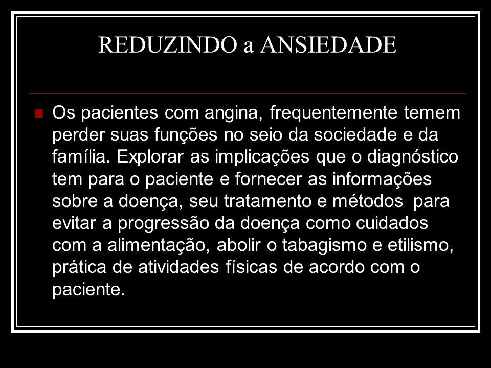 REDUZINDO a ANSIEDADE