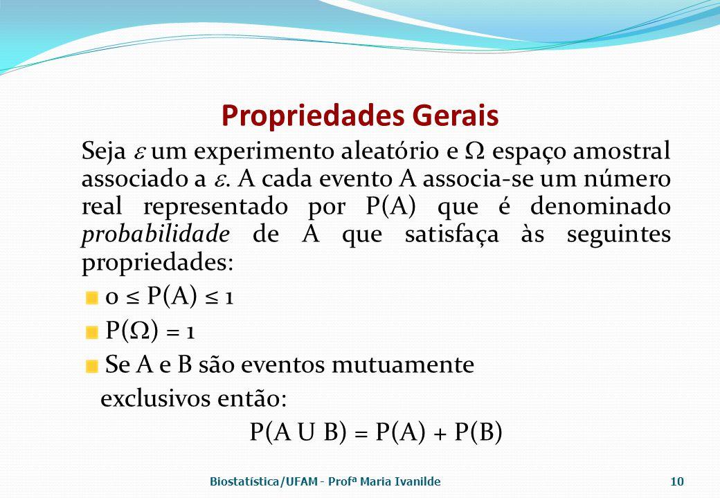Propriedades Gerais