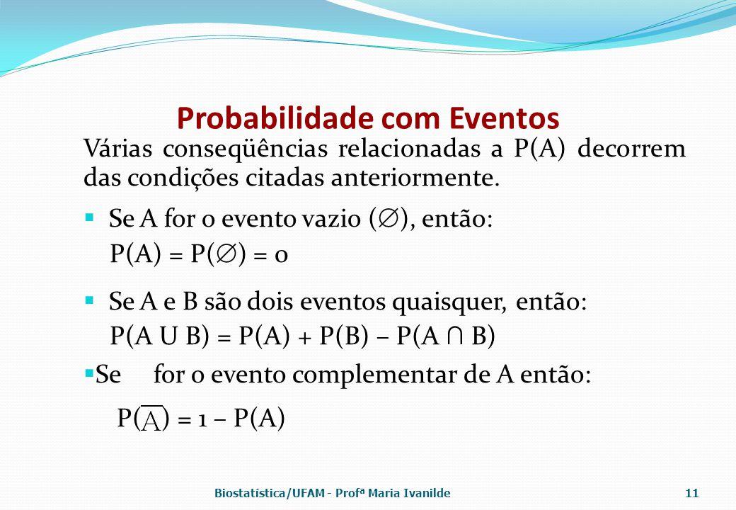 Probabilidade com Eventos
