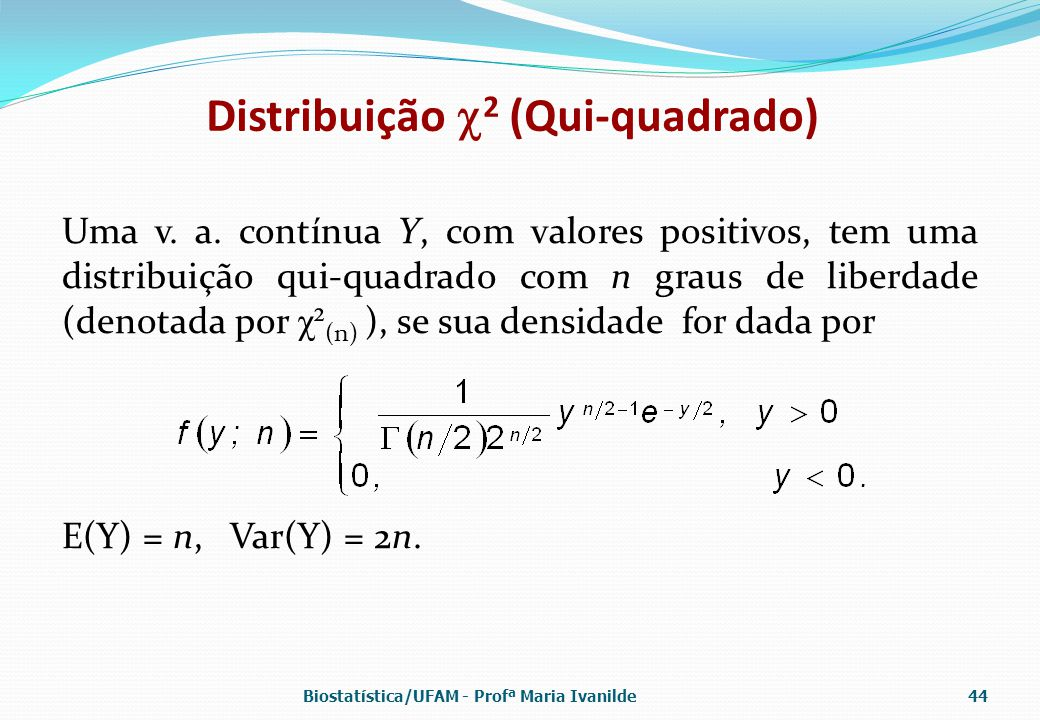 Distribuição 2 (Qui-quadrado)