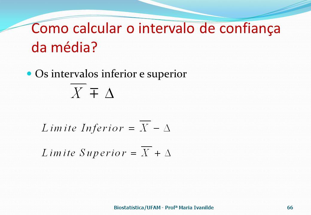 Como calcular o intervalo de confiança da média