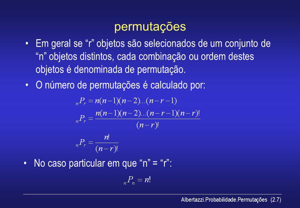 permutações
