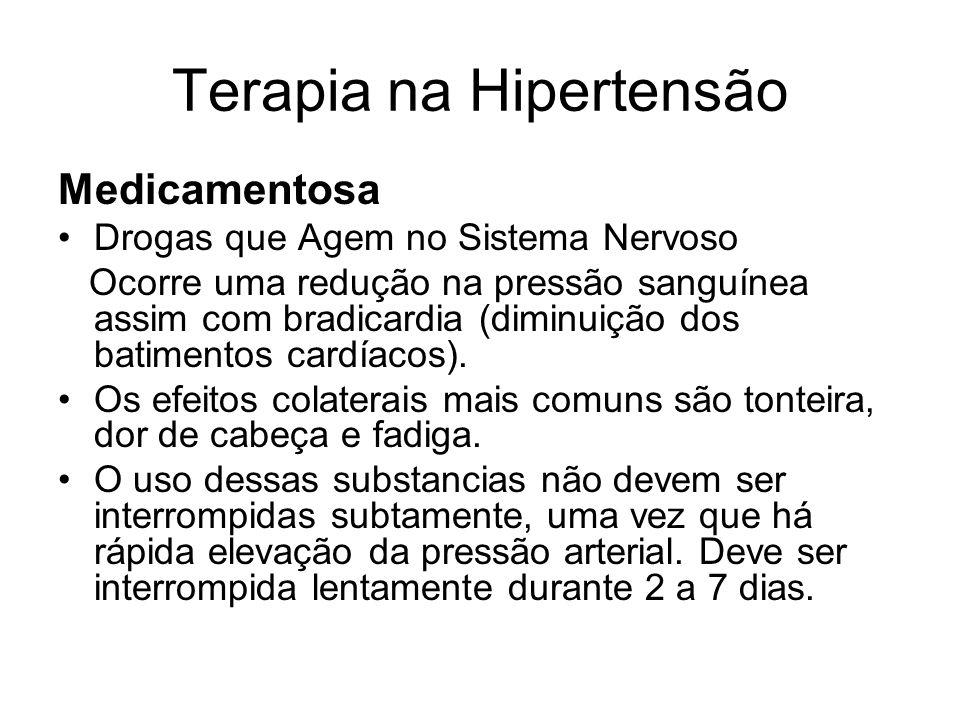 Terapia na Hipertensão