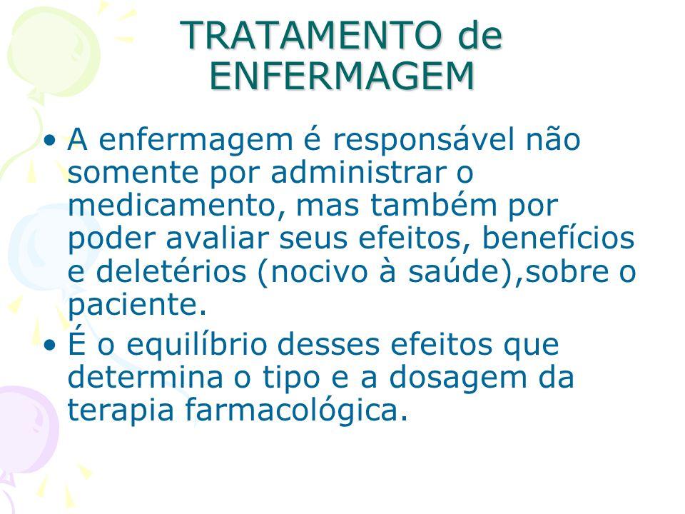 TRATAMENTO de ENFERMAGEM