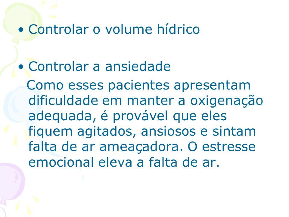 Controlar o volume hídrico
