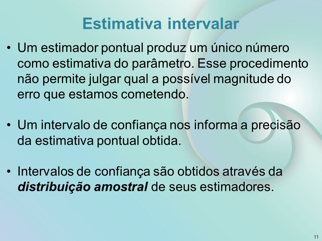 Estimativa intervalar