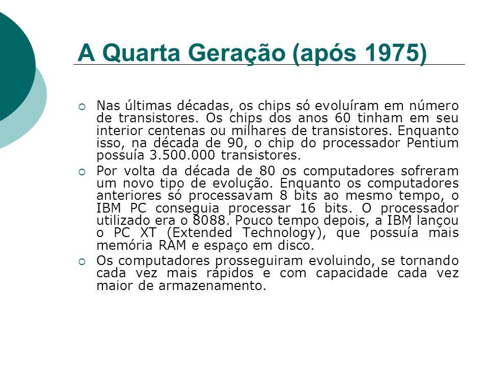 A Quarta Geração (após 1975)