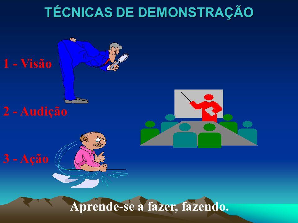 TÉCNICAS DE DEMONSTRAÇÃO