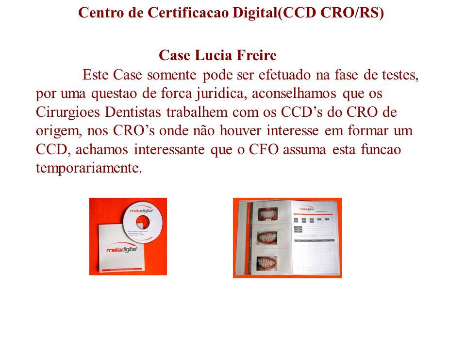 Centro de Certificacao Digital(CCD CRO/RS)