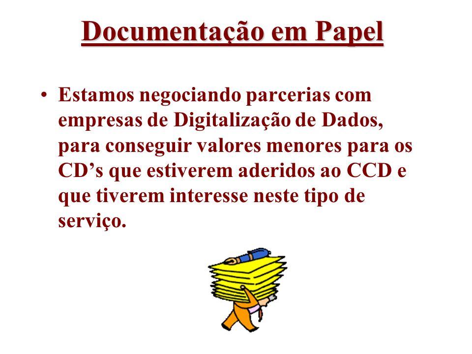 Documentação em Papel