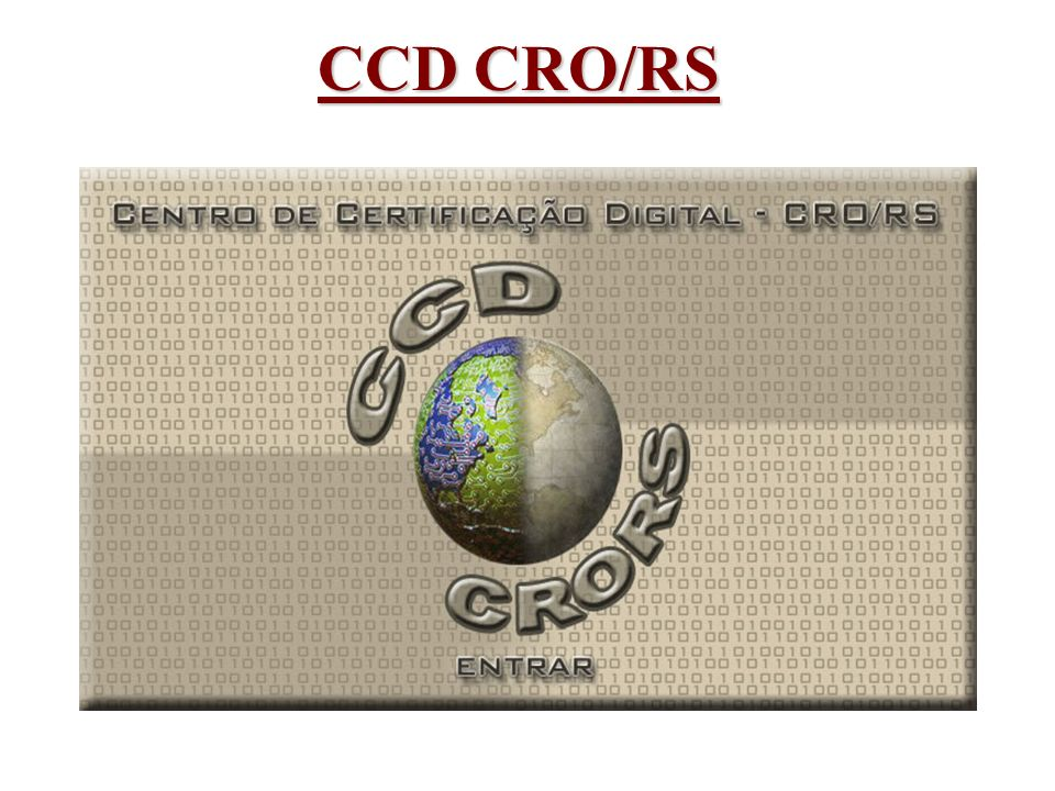 CCD CRO/RS