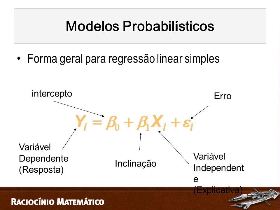 Modelos Probabilísticos