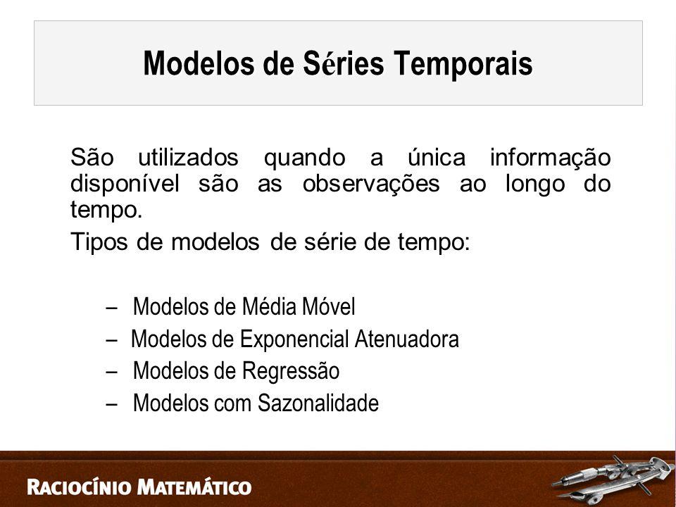 Modelos de Séries Temporais