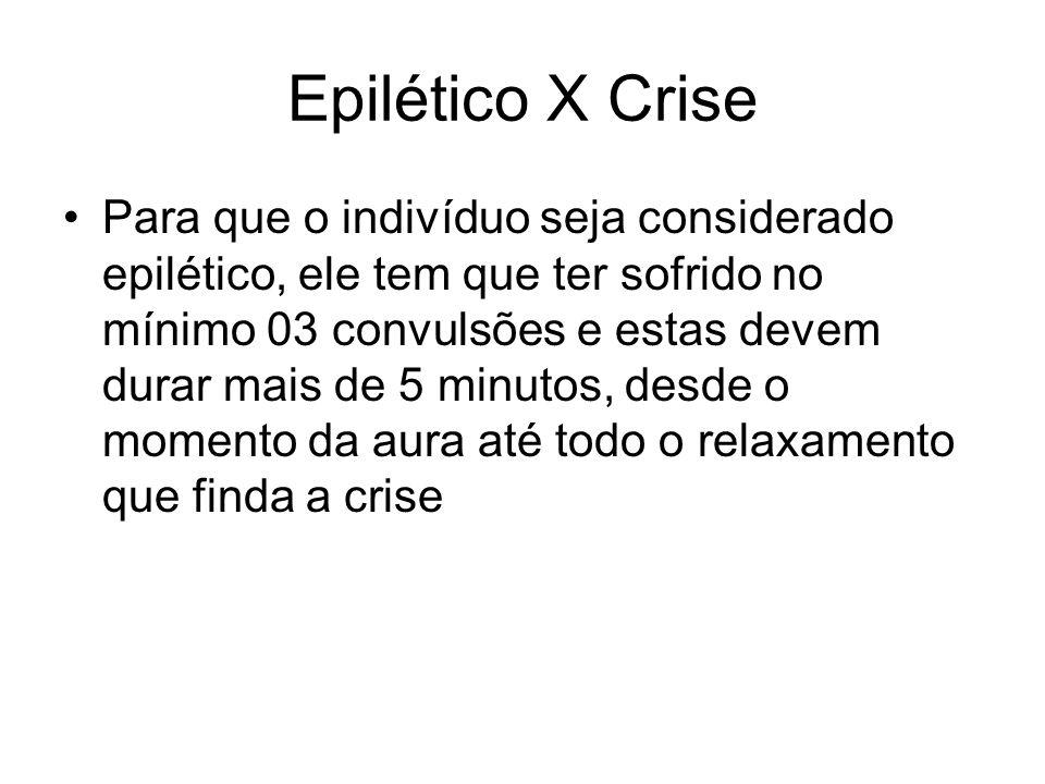 Epilético X Crise