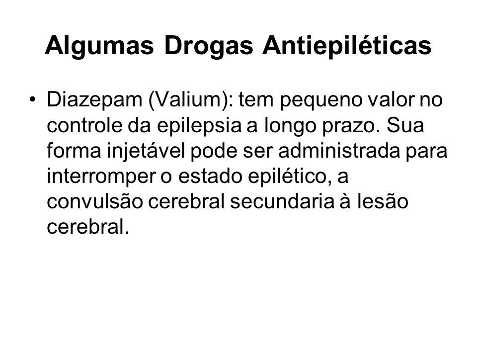 Algumas Drogas Antiepiléticas