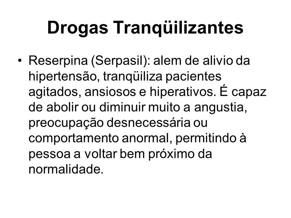 Drogas Tranqüilizantes