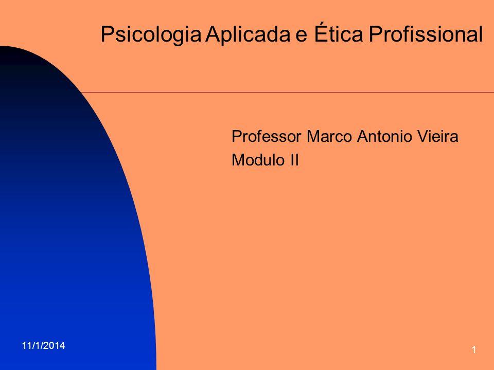 Professor Marco Antonio Vieira Modulo II