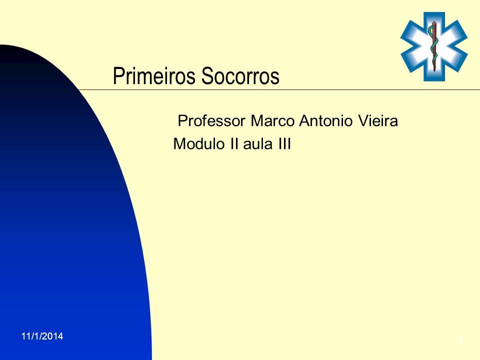Professor Marco Antonio Vieira Modulo II aula III