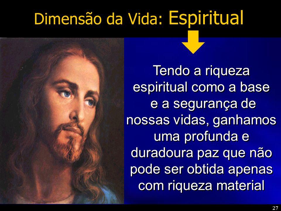Dimensão da Vida: Espiritual