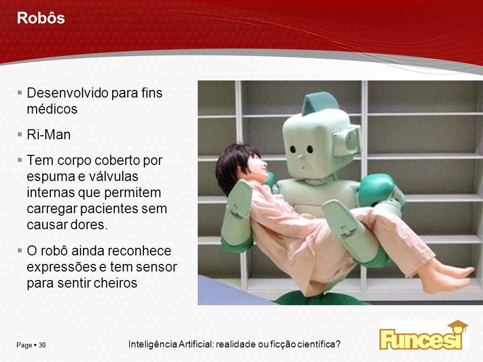 Robôs Desenvolvido para fins médicos Ri-Man