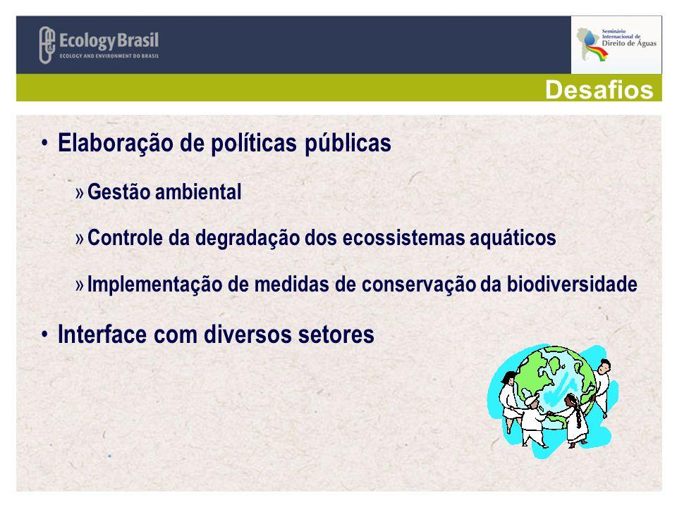 Elaboração de políticas públicas