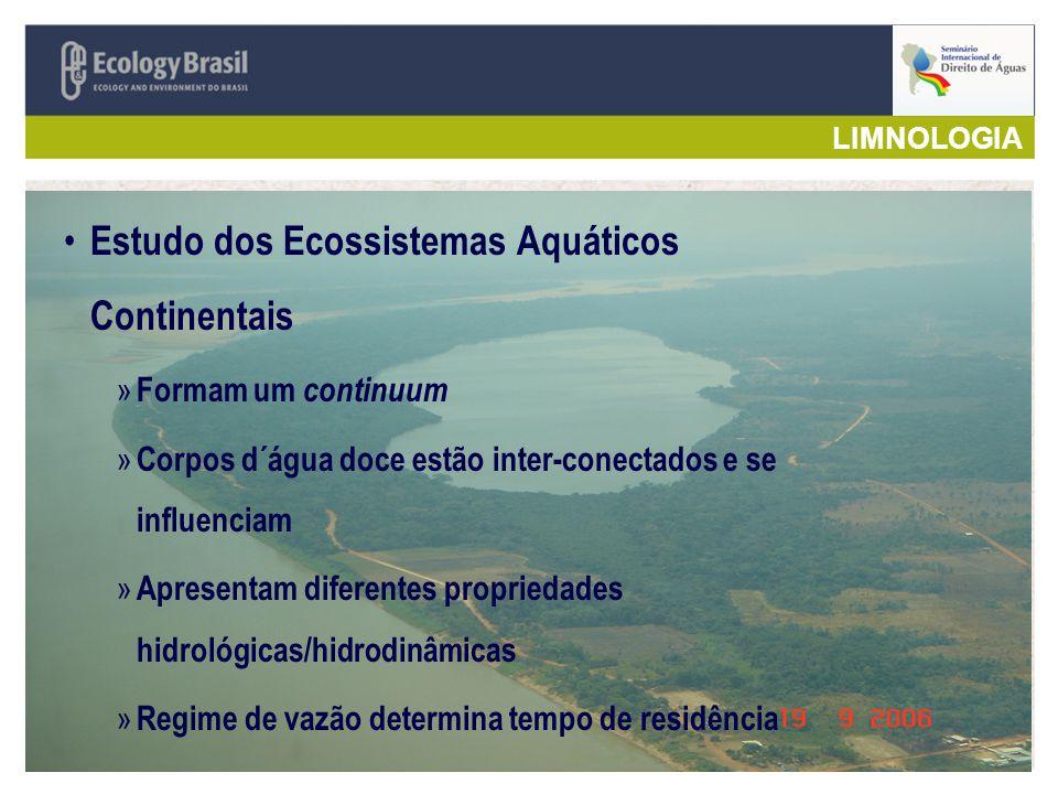 Estudo dos Ecossistemas Aquáticos Continentais