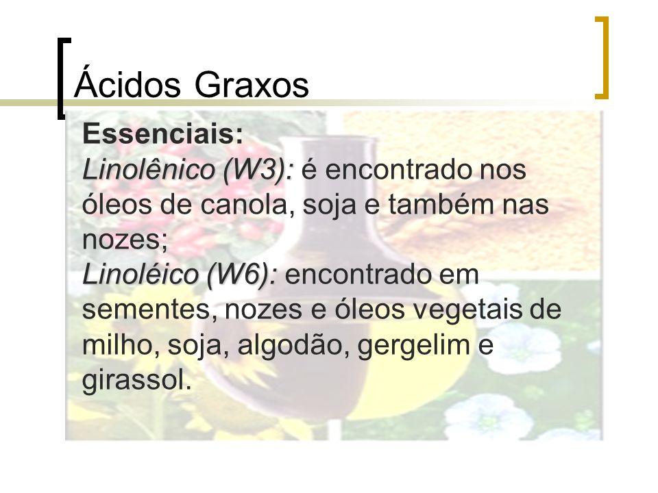 Ácidos Graxos Essenciais: