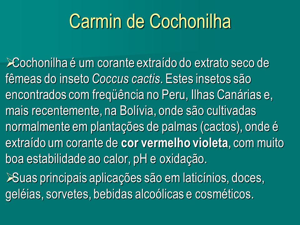 Carmin de Cochonilha