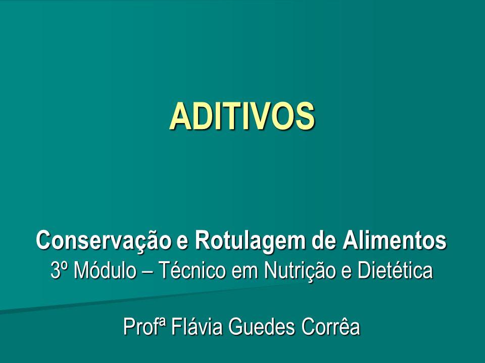 Conservação e Rotulagem de Alimentos