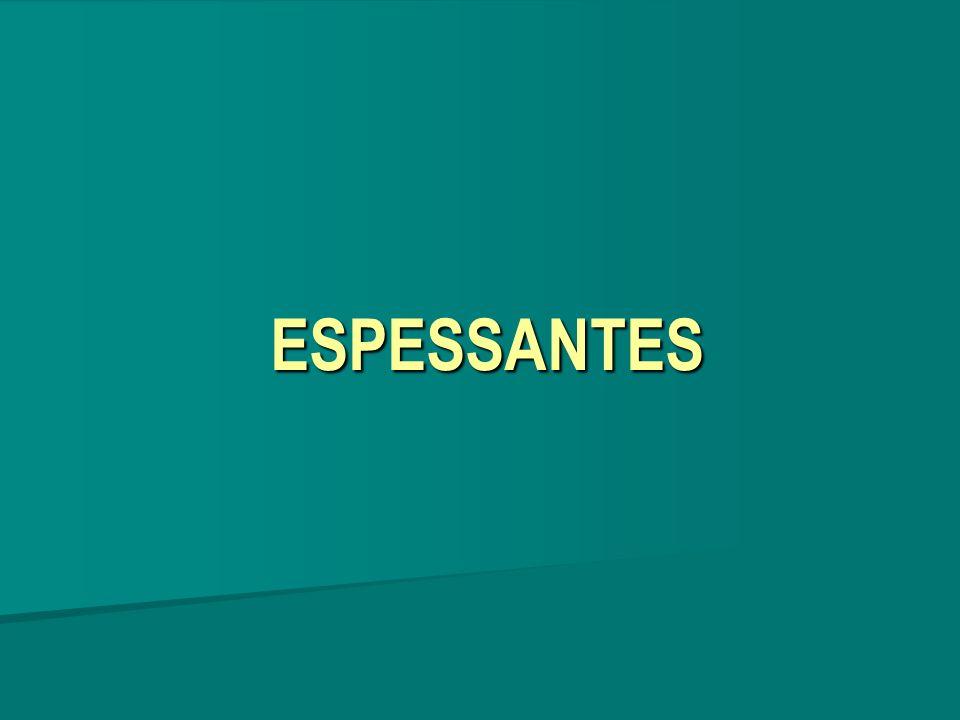 ESPESSANTES